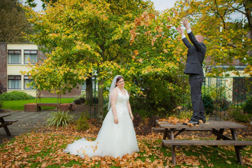 Lovely fall Wedding