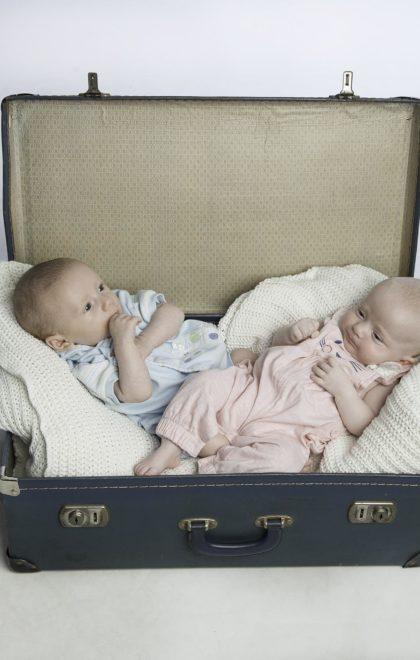 Newborns twins