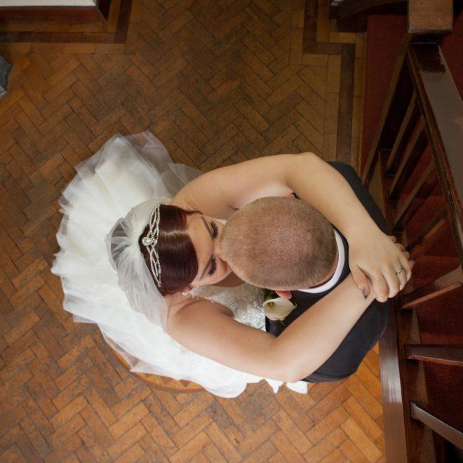 wedding Above kisses