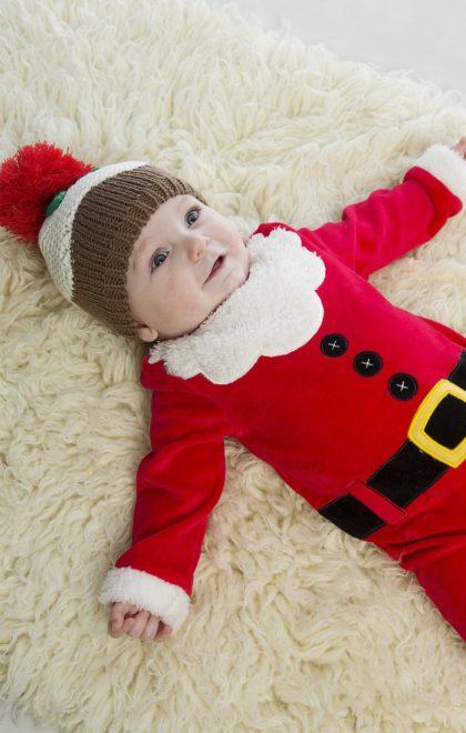 baby dress as santa
