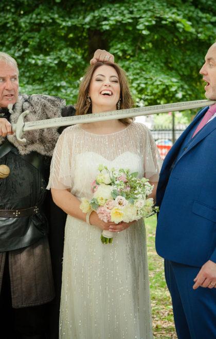 Wedding at St Stephens