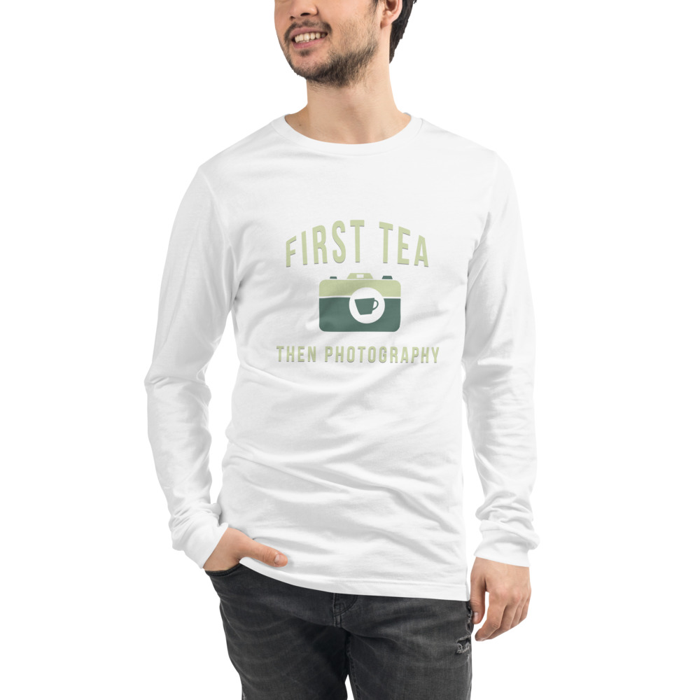 Tea Then Coffee Long Sleeve T-Shirt