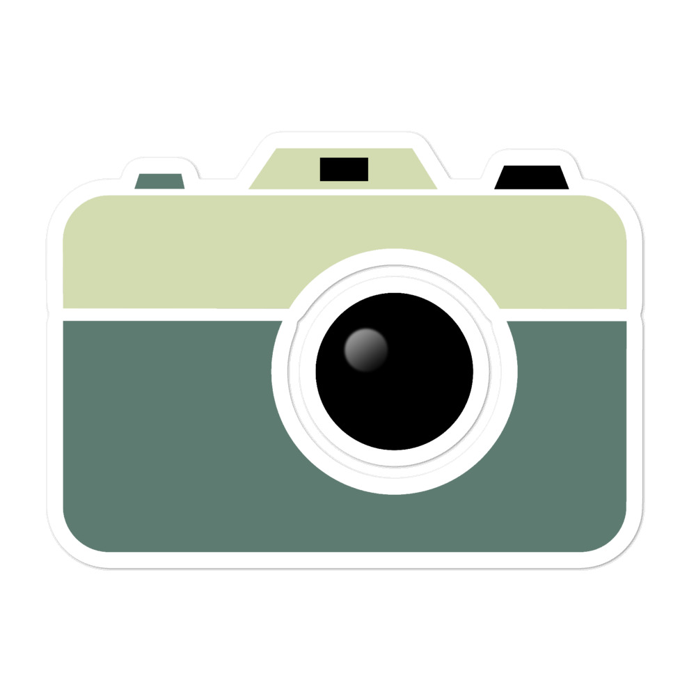Camera Sticker Large