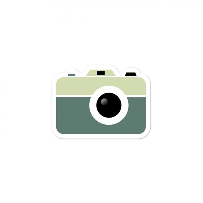 Camera Sticker small