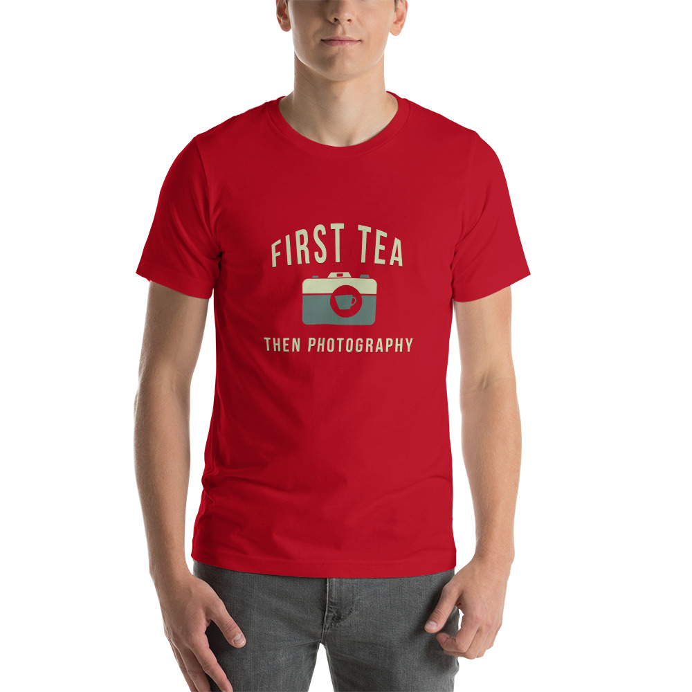 Tea Then Photography t-shirt