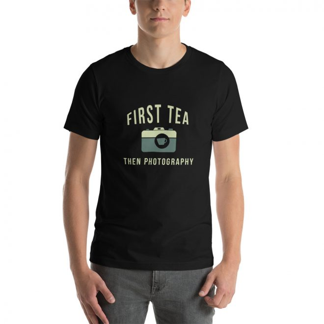 Tea Then Photography t-shirt