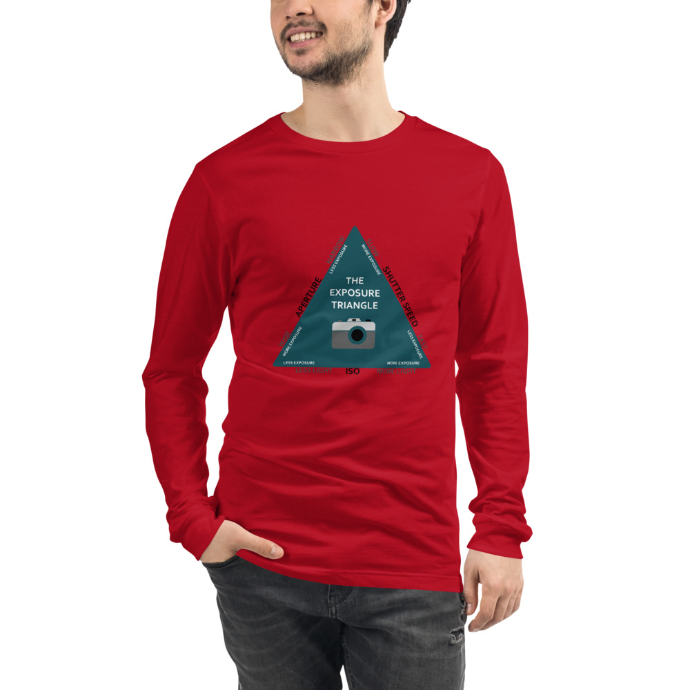 Red Long Sleeved T-Shirt