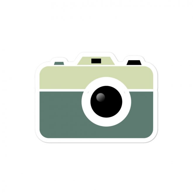 Camera Sticker Medium
