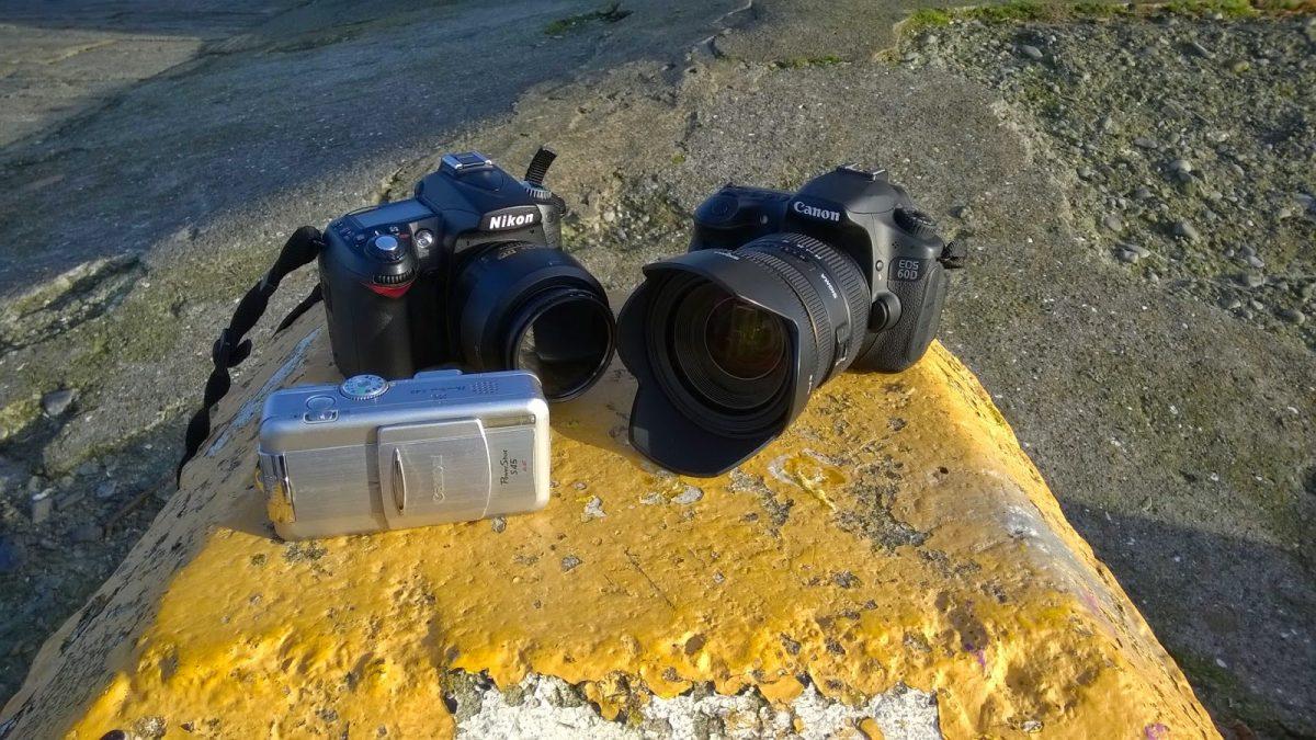 3 Cameras
